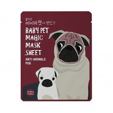Holika Holika Baby Pet Magic Mask Sheet Anti-wrinkle Pug